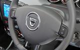 Dacia Duster steering wheel