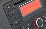 Dacia Sandero infotainment controls