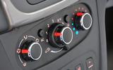 Dacia Sandero climate controls