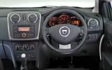 Dacia Sandero dashboard
