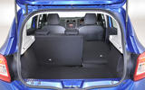 Dacia Sandero seating flexibility