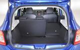 Dacia Sandero seating flexibility