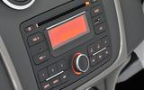 Dacia Sandero infotainment system