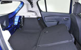 Dacia Sandero extended boot space