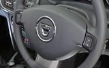 Dacia Sandero steering wheel