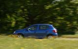 Dacia Sandero side profile