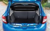 Dacia Sandero Stepway boot space