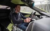 Dan Prosser driving the Zenvo TS1 GT