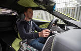 Dan Prosser driving the Zenvo TS1 GT