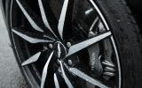 Aston Martin DB10's diamond cut alloy wheels