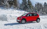 Volkswagen CrossUp on snow