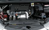 The DS 4 Crossback's 1.6-litre diesel engine
