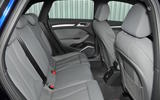Audi S3 2016-2020 road test review - rear seats