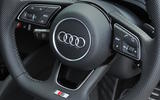 Audi S3 2016-2020 road test review - steering wheel