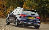 Audi S3 2016-2020 road test review - cornering rear