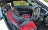 Nissan 370Z Nismo front seats