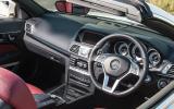 Mercedes-Benz E-Class cabriolet interior
