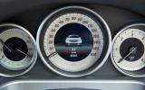 Mercedes-Benz E-Class instrument cluster