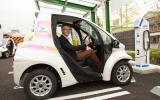 Getting into the Toyota i-Road