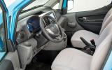 Nissan e-NV200 interior