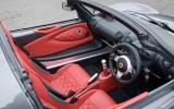 Lotus Exige S Roadster interior