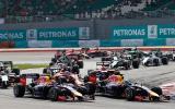 Hamilton dominates Malaysian GP