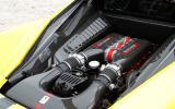 4.5-litre V8 Ferrari 458 Speciale engine
