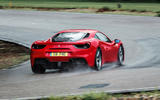 Ferrari 488 GTB rear cornering