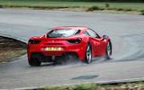 Ferrari 488 GTB rear cornering