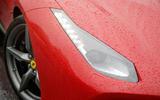 Ferrari 488 GTB headlight