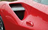 Ferrari 488 GTB side air intake