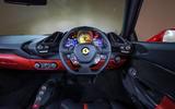 Ferrari 488 GTB dashboard