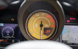 Ferrari 488 GTB rev counter
