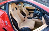 Ferrari 599 interior