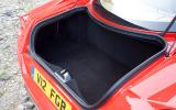Ferrari 599 boot space