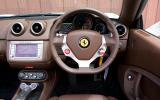 Ferrari California dashboard