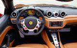 Ferrari California T dashboard