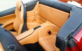Ferrari California T rear seats