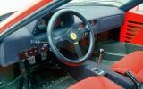 Ferrari F40 interior