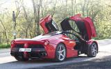 Ferrari LaFerrari gullwing doors