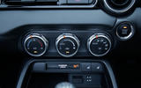 Fiat 124 Spider climate controls
