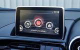 Fiat 124 Spider infotainment system