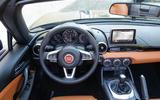 Fiat 124 Spider dashboard