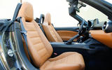 Fiat 124 Spider front seats