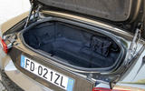 FIat 124 Spider boot space