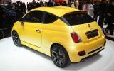 Geneva show: Zagato's Fiat 500 coupe