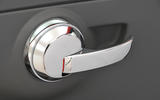 Fiat 500 chrome door handle