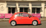 Fiat 500 side profile