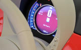 Fiat 500 digital speedo
