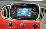 Fiat 500 Uconnect infotainment system